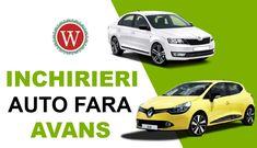 Inchirieri Auto Fara Avans - West Rent a Car Timisoara Car, Automobile, Autos, Cars