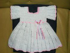 Prendas para niñas tejidas a crochet - Imagui