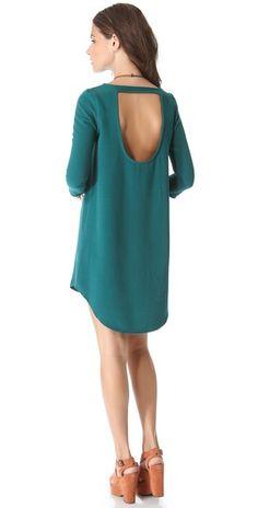 BB Dakota Jace Cut Out Back Shift Dress |SHOPBOP | Save up to 25% Use Code BIGEVENT13