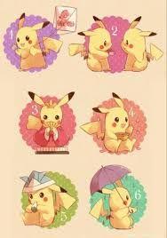 Resultado de imagen para imagenes kawaii de pikachu para interest