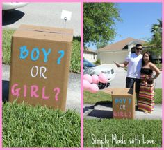 gender reveal party ideas | Simply Made...with Love: Gender Reveal Party