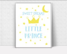 Wall Art Sweet Dreams Digital Print Sweet Dreams Poster Art Sweet Dreams Wall Art Print Sweet Dreams Nursery Art Sweet Dreams Nursery Print - Digital Download #homedecorations #wallprints #giftforhim #giftforher