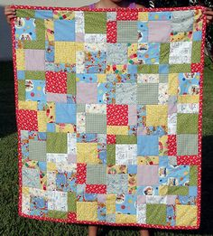 Disappearing Nine Patch, from Sew, Mama, Sew!