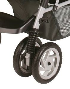 Graco DuoGlider Wheels  Review: http://bestqualitystrollers.com/graco-duoglider-click-connect-stroller-review/