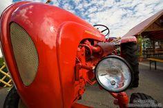 Old Porsche tractor