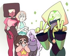 Peridot. Steven universe.>> THE EPISODE CATCH AND RELEASE!! OMG!!! PERIDOT IS NOT THAT BAD! I CANT BELIEVE THAT THEY CAUGHT HER!!!!!
