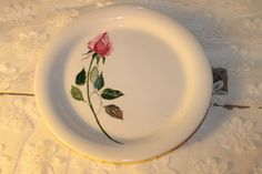 "Homer Laughlin 8"" salad, 1 available, Southern Vintage Classic China Collection Rentals"