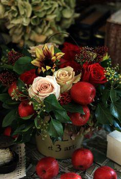 red apple bouquet #PinAtoZ