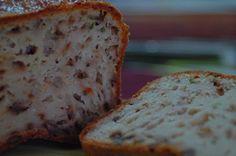 Cake au gorgonzola, noix et ciboulette (ajouter figues?)
