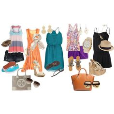 Caribbean Bound, created by fleurdelove on Polyvore