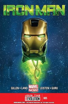 Iron Man Vol. 5 #5  Extremis plus the final frontier equals universal doom! Will Tony have to betray an old friend? Plus, the all-new space armor debuts!