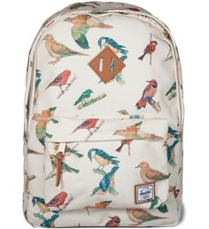 Bird Print Woodlands Backpack-GIMME