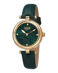 BURGI Brand New Watch With Genuine  Diamonds  - Certificate Available. | Bidz.com Jewelry Auctions
