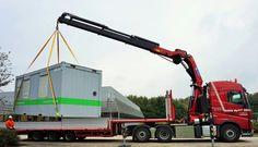 Volvo fh euro 6 with 60 ton meter crane