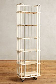 Visby Narrow Six-Tier Bookcase - Anthropologie