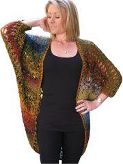 Rococo Shawl Knit Pattern Download -- A stylish and versatile knitting pattern.