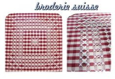 Chicken Scratch Embroidery, Gingham Fabric, Household Items, Anastasia, Crochet Patterns, Buffalo Check, Towels, Spanish, Hand Embroidery