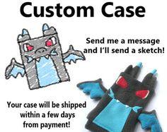 Glaceon Pokemon Nintendo 3ds/Custom Size by fleacircusdesigns
