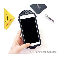 Individuell 3D Mikrofon silikon Handyhülle für Iphone6/6plus