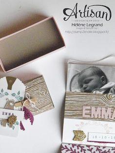 Stamp 2 LiNotte: Faire-part de naissance les amis de la forêt - Stampin' Up ! Artisan Blog Hop - Octobre #3