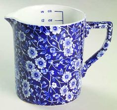 Staffordshire Calico-Blue (Crownford Stamp) at Replacements, Ltd