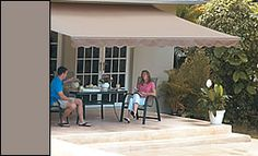 Sunsetter retractable awning...must have for the next home.