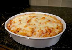 My Simplistic Ideal: Recipe - Baked Ziti