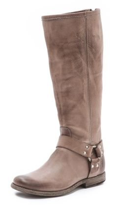 Frye Phillip Harness Tall Boots/ these are insanely comfy...but i can't get them zipped over my giant calves.
