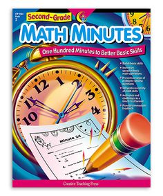 Another great find on #zulily! Grade 2 Math Minutes Workbook by Creative Teaching Press #zulilyfinds