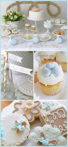 Beautiful Spring themed party ideas - could be used for baby shower, birthday anything very pretty