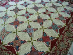quilt by  Michelle Yeo quilted by Addicted to Quilts,