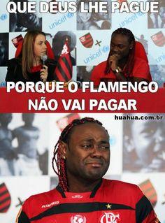 Tirinhas que eu gostaria de ter feito: Vagner Love no Flamengo. Merece 1 Post!