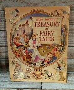 Hilda-Boswells-Treasury-of-Fairy-Tales-Vintage-Book-1960s