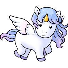 unicornio pegaso lo tienen todo <3