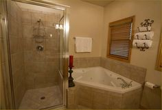 Master Bathrooms | Large private master bathroom also includes dual vanities.