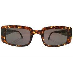 Iceberg 1980s tortoiseshell vintage sunglasses