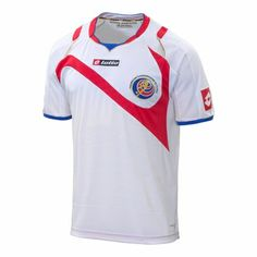 Lotto Costa Rica 2014 World Cup Away Jersey Soccer Gear ae8057b4d
