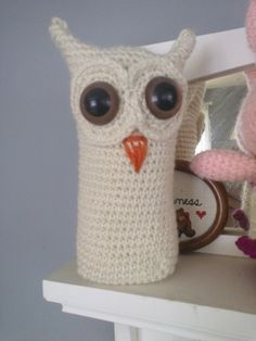 Snow Owl (Crochet) ∙ Creation by Amanda M. on Cut Out + Keep