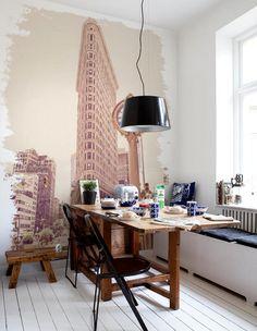 desk and wall decor