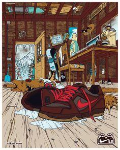 Nike 6.0 by Adam Haynes, via Behance