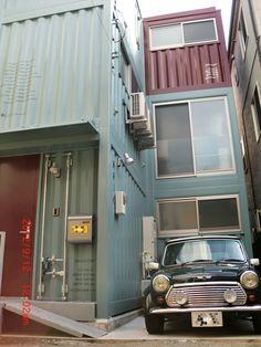 コンテナハウスのBOX OF IRON HOUSE-コンテナハウス