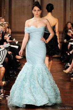 Romona Keveza Fall 2012 'something blue'