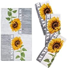 Shopping Cart Sunflower Head, Sunflower Flower, Sunflower Print, Kitchen Curtains And Valances, Fabric Shower Curtains, Soft Towels, Dish Towels, Gas Stove Top, Mason Jar Wall Sconce