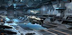 ArtStation - Hangar of Enigma, Fan Zhang