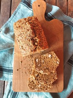 Bread cake noisette Bread Cake, Lactose Free, Afternoon Snacks, Healthy Cooking, Tea Time, Brunch, Gluten, Vegan, Breakfast