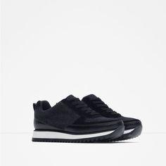 DEPORTIVO COMBINADO-Ver todo-Zapatos-MUJER | ZARA España