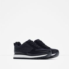 Image 2 of CONTRAST SNEAKERS from Zara
