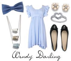 Wendy Darling (I love that thimble necklace!)