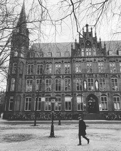 Het Utrechts Conservatorium, sinds 1971 gevestigd in het voormalige ziekenhuis Sint Johannes de Deo op de Mariaplaats.