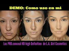 @auroramakeup - Correctores de Maquillaje / Makeup correctors L.A Girl - YouTube